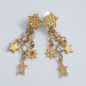 You're a star!!!! Vintage Dangly Earrings